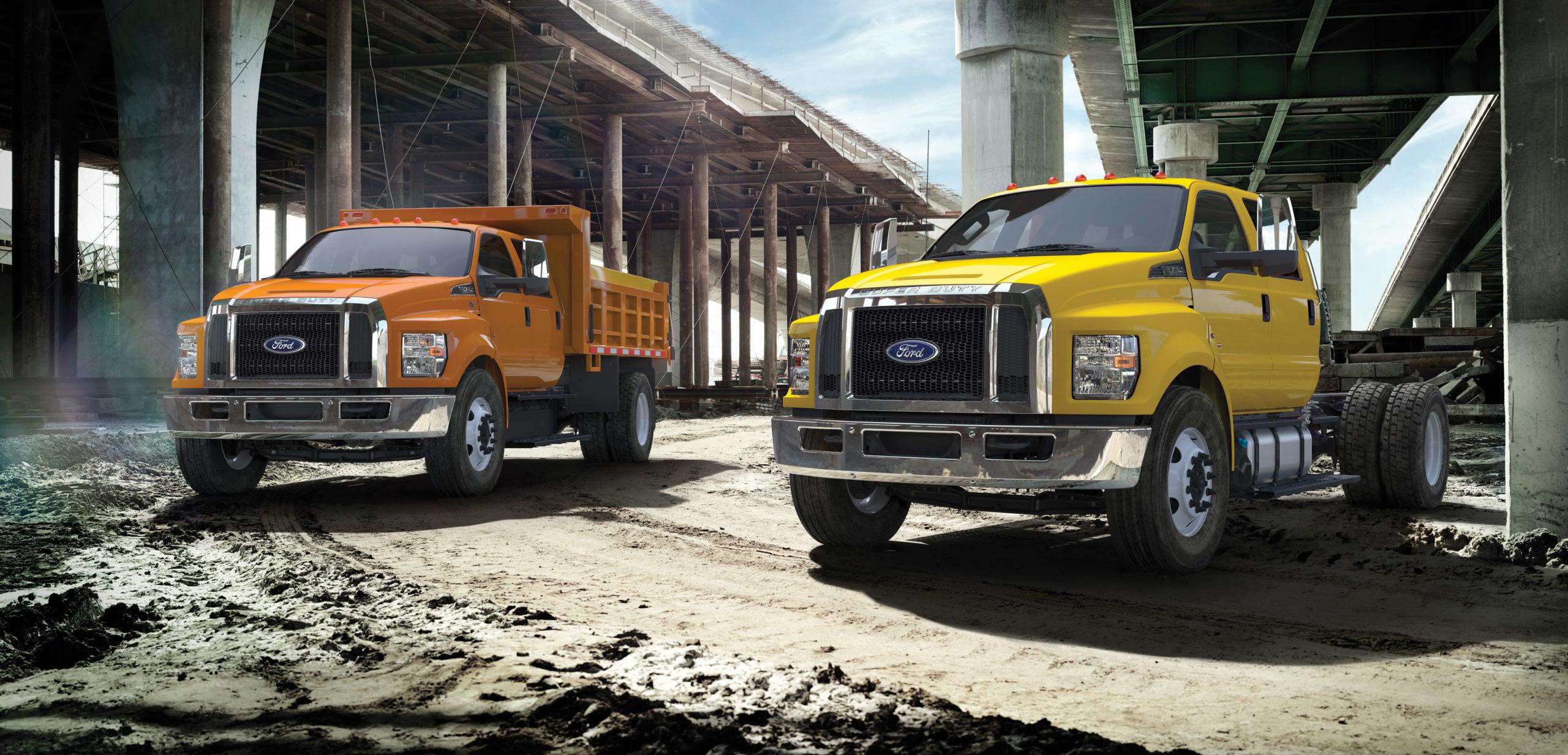 Ford Construction Fleet Trucks